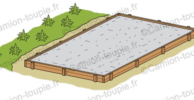sechage dalle beton dans coffrage