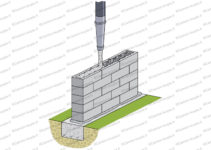 bloc a bancher coulage beton