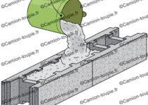 parpaing a bancher coulage beton banché