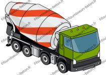 le b ton autonivelant camion toupie. Black Bedroom Furniture Sets. Home Design Ideas