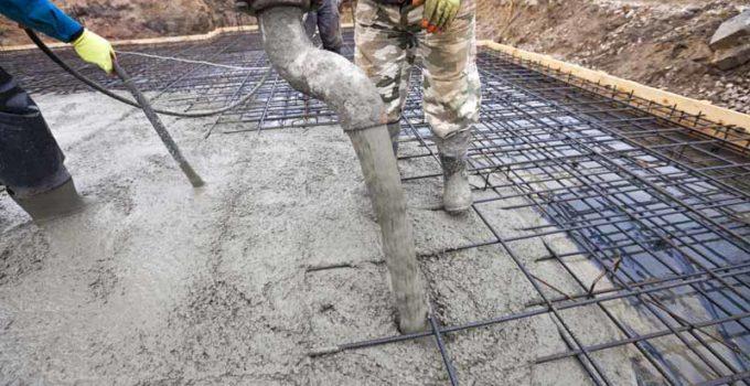 coulage beton dallage treillis soudé
