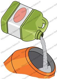 hydrofuge de masse