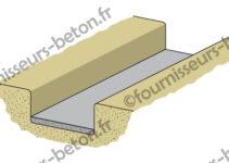 semelle de proprete beton