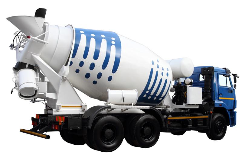 camion toupie béton prêt à l'emploi