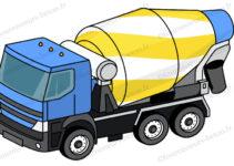 Capacit d 39 un camion toupie camion toupie - Prix m2 beton toupie ...