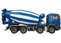 camion malaxeur toupie
